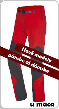 Nové turistické nohavice